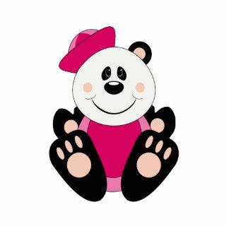 Oso de panda del marinero de la niña de Cutelyn Escultura Fotografica