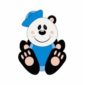 Oso de panda del marinero del bebé de Cutelyn Escultura Fotográfica