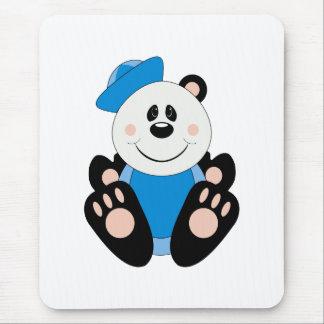 Oso de panda del marinero del bebé de Cutelyn Alfombrilla De Ratón