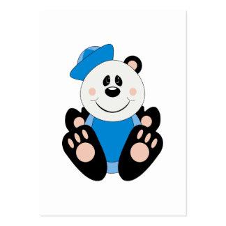 Oso de panda del marinero del bebé de Cutelyn Plantilla De Tarjeta Personal