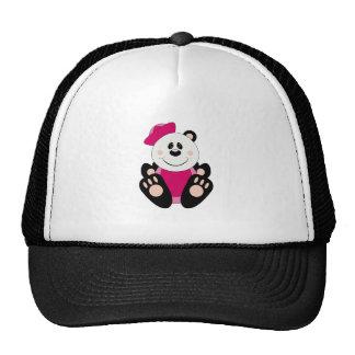 Oso de panda del marinero del chica de Cutelyn Gorras