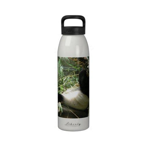 Oso de panda gigante botella de beber