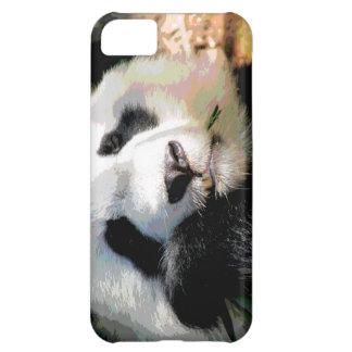 Oso de panda gigante lindo que mastica el bambú