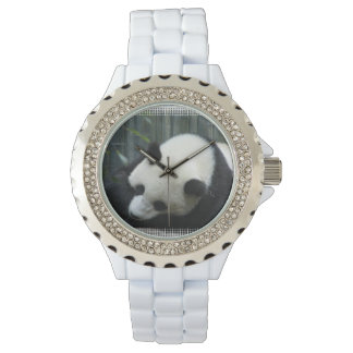 Oso de panda gigante relojes