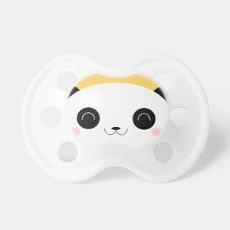 Oso de panda lindo del Peekaboo de Kawaii Chupetes Para Bebes
