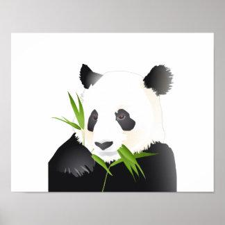 Oso de panda posters