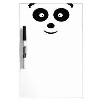 Oso de panda pizarra