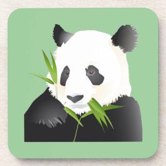 Oso de panda posavaso
