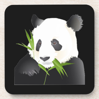 Oso de panda posavasos