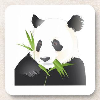 Oso de panda posavasos de bebida
