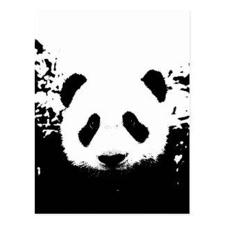 Oso de panda postales