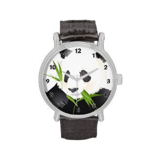 Oso de panda relojes