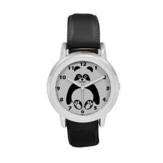 Oso de panda reloj de mano