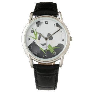 Oso de panda reloj