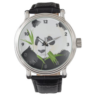 Oso de panda relojes de mano