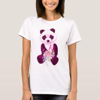 Oso de panda rosado de la cinta playera