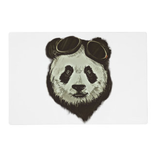 Oso de panda salvamanteles