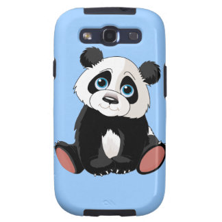 Oso de panda samsung galaxy s3 funda