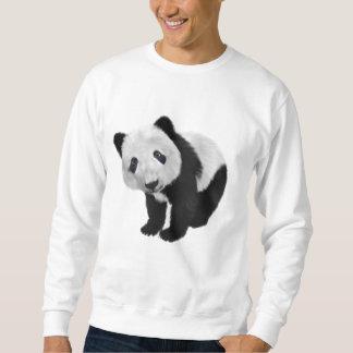 Oso de panda sudadera con capucha