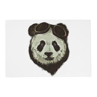 Oso de panda tapete individual