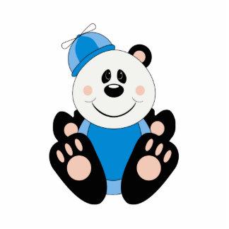 Oso de panda tonto del bebé de Cutelyn Escultura Fotografica