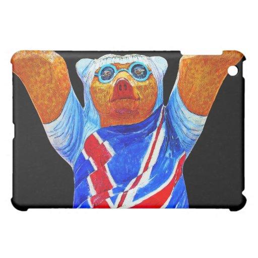 Oso de peluche, bandera de Union Jack (Reino Unido