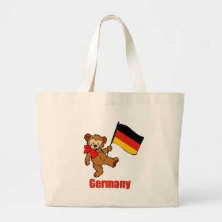 Oso de peluche de Alemania Bolsa Tela Grande
