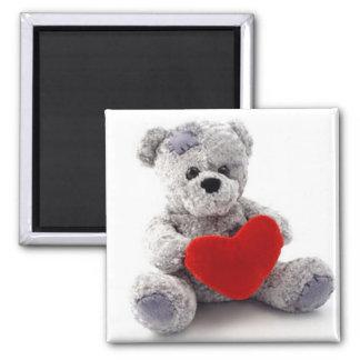 Oso de peluche de Bear del Love Imanes De Nevera