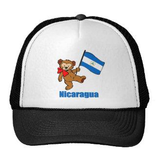 Oso de peluche de Nicaragua Gorras De Camionero