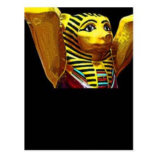 Oso de peluche egipcio tarjeta postal