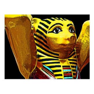 Oso de peluche egipcio tarjetas postales