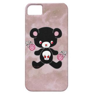 Oso de peluche gótico iPhone 5 Case-Mate protector