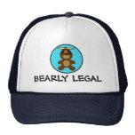 Oso de peluche legal de Bearly Gorra