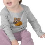 oso de peluche lindo de Halloween en abucheo de la Camiseta