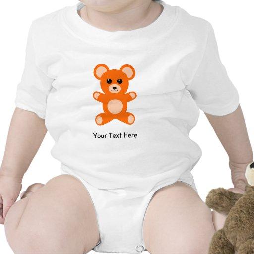 Oso de peluche lindo del bebé traje de bebé