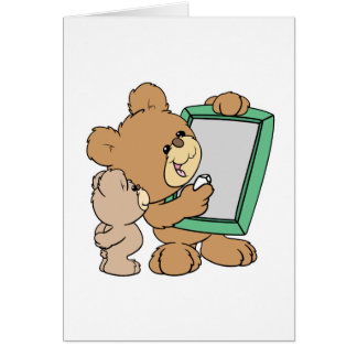 oso de peluche lindo del profesor con la pizarra tarjeton