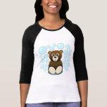 oso de peluche lindo en burbujas camiseta