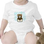 oso de peluche lindo en burbujas trajes de bebé