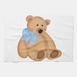 Oso de peluche lindo para el bebé toallas de cocina