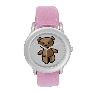 oso de peluche lindo relojes