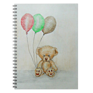 oso de peluche note book