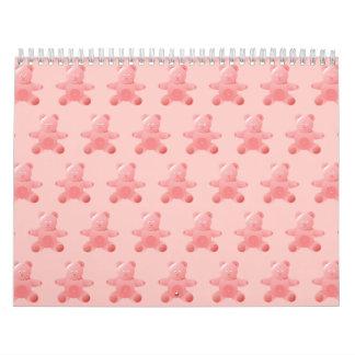 Oso de peluche Pink.ai Calendario