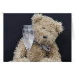 oso de peluche tarjeta