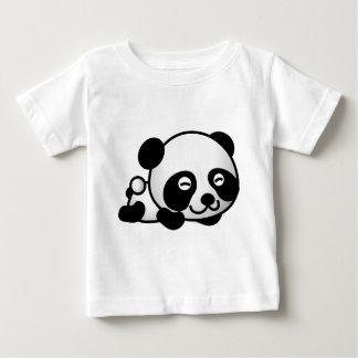Oso de pequeño panda lindo t-shirt