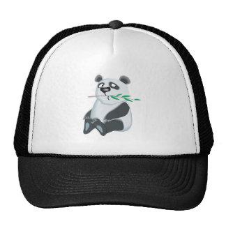oso de pequeño panda triste gorro