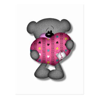 oso del amor de los corazones del garabato