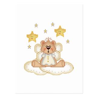 Oso del ángel tarjetas postales