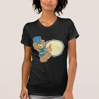 Oso del batería de la banda camiseta