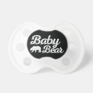 Oso del bebé chupete