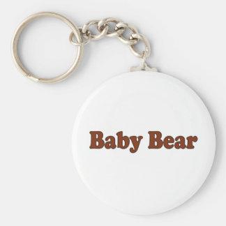 Oso del bebé llavero personalizado